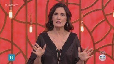 Programa de 01/07/2020 - A apresentadora Fátima Bernardes comanda o programa que mistura comportamento, prestação de serviço, informação, música, entretenimento e muita diversão.