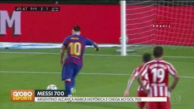 GE no DF1: Messi chega ao gol 700 na carreira - GE no DF1: Messi chega ao gol 700 na carreira