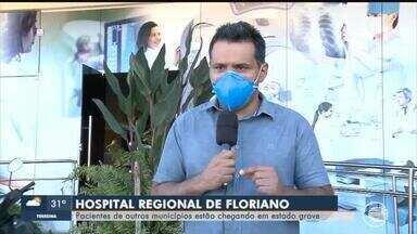 Pacientes de cidades da região de Floriano chegam ao HTN em estado grave - Pacientes de cidades da região de Floriano chegam ao HTN em estado grave