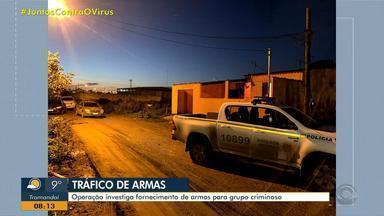 Operação prende três pessoas suspeitas de tráfico de drogas e armas em Uruguaiana - Ministério Público investiga ação que levaria os ilícitos para a Região Metropolitana.