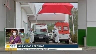 Mato Grosso chega a 665 mortes por Covid-19 - Mato Grosso chega a 665 mortes por Covid-19