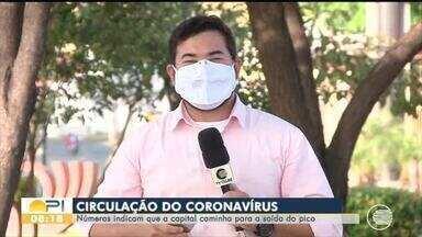 Pesquisa indica que circulação de coronavírus caiu em Teresina - Pesquisa indica que circulação de coronavírus caiu em Teresina
