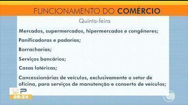 Confira o que abre e o que fecha de acordo com o decreto do Governo do Piauí - Confira o que abre e o que fecha de acordo com o decreto do Governo do Piauí