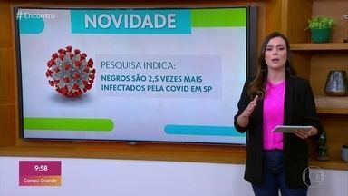 Bem Estar no Encontro - Negros são 2,5 vezes mais infectados pela covid em SP