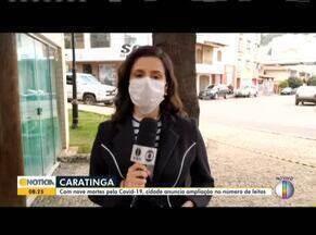 Confira a situação do coronavírus em Caratinga - Com 09 mortes pela covid-19, cidade anuncia ampliação do número de leitos.