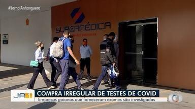 MP e polícia investigam superfaturamento na compra de testes de Covid-19 - Investigadores estimam rombo de R$ 10 milhões.