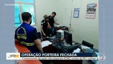 Polícia Civil investiga comerciantes que compram gado em Goiás sem pagar impostos - Eles usavam uma decisão judicial falsa para emitir notas fiscais e transporte de gado com isenção fiscal.