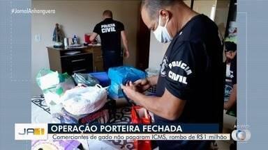 Delegado comenta sobre compradores de gado que não pagavam ICMS, em Goiás - Eles usavam decisão judicial falsa para emitir notas fiscais e ter isenção tributária.