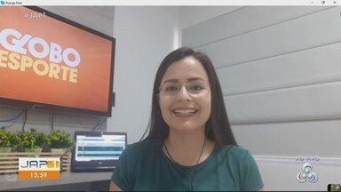 Confira os destaques do Globo Esporte com Elyerge Paes - Confira os destaques do Globo Esporte com Elyerge Paes