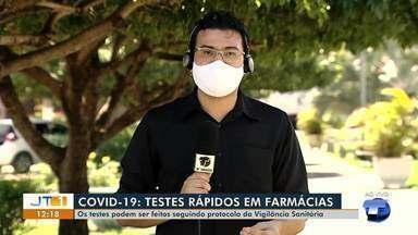 Testes rápidos para Covid em farmácias podem ser realizados seguindo protocolo da Divisa - Em Santarém, farmácias têm realizado testagem sem autorização.