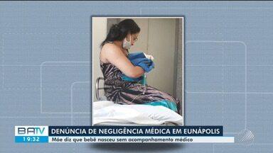 Após morte de recém-nascido, família acusa unidade hospitalar de negligência sul da Bahia - O hospital assegura que não houve falhas no atendimento prestado à gestante.