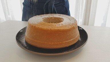 Culinária #013: Aprenda dicas infalíveis para fazer um bolo de laranja fofinho e saboroso - Chef patissier Paula Gulli passou uma receita bem fácil e ainda explicou como não errar no preparo de qualquer bolo.