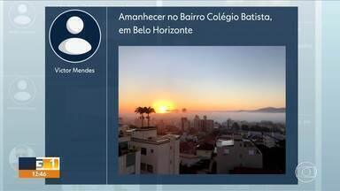 Capital amanhece debaixo de nevoeiro - Belo Horizonte e a região metropolitana foram tomadas por neblina, na manhã desta sexta-feira (3). O fenômeno foi causado pela inversão térmica.