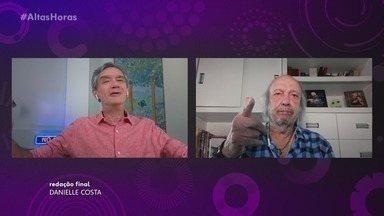 Programa de 04/07/2020 - Erasmo Carlos é o entrevistado deste sábado do 'Altas Horas'. Além do bate-papo com Serginho Groisman, o cantor assiste e comenta os melhores momentos do especial em sua homenagem, realizado em 2010.