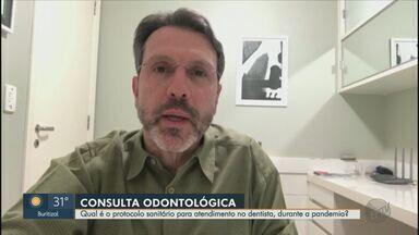 Qual é o protocolo sanitário para atendimento no dentista na pandemia? Entenda - Periodontista tira dúvidas sobre o serviço em regiões na fase vermelha do Plano São Paulo.