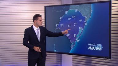 Ciclone extratropical deve voltar a provocar chuva intensa e ventania no RS - Previsão aponta que alterações no tempo começam na madrugada de terça (7).