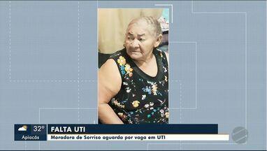 Moradora de Sorriso aguarda por vaga em UTI - Moradora de Sorriso aguarda por vaga em UTI