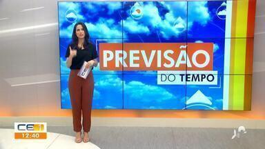 Confira a previsão do tempo desta terça-feira com Camila Marcelo - Saiba mais no g1.com.br/ce