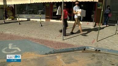 Cobrança da 'Zona Azul' é retomada em Petrolina - A taxa paga pelo estacionamento havia sido suspenda quando o comércio foi fechado.