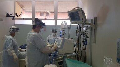 Hospital de campanha de São Paulo vai receber pacientes da região de Campinas - No hospital da Unicamp, a taxa de ocupação dos leitos de UTI está em 98%, mas chegou a 100% em alguns dias na semana passada.