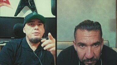 Programa de 08/07/2020 - O cantor Rodolfo Abrantes fala sobre sua carreira, o lançamento de seu novo single e sobre as pazes feitas recentemente com Digão, seu ex-companheiro de Raimundos.