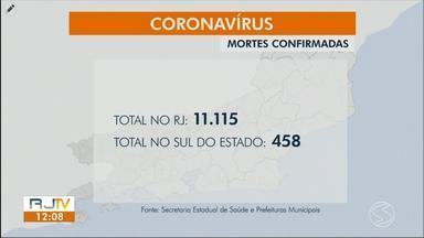 RJ1 atualiza casos de coronavírus no sul do estado - Piraí, Três Rios e Vassouras registraram novas mortes causadas pela doença.