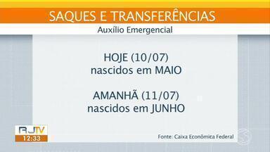 Parcela do auxílio emergencial tem pagamento antecipado - Nascidos em agosto e dezembro poderão sacar na segunda e terça-feira.