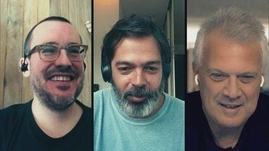 Programa de 10/07/2020 - Conversa com Bruno Mazzeo e Antonio Prata, dois talentos que estão produzindo séries tendo a quarentena como tema.