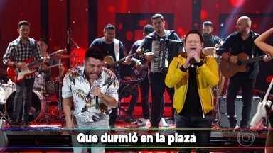 Bruno e Marrone cantam 'Dormi na Praça' - A dupla canta uma versão em espanhol do grande sucesso