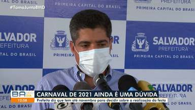 Carnaval: Prefeito diz que tem até novembro para decidir sobre a realização da festa - Confira o que diz ACM Neto.