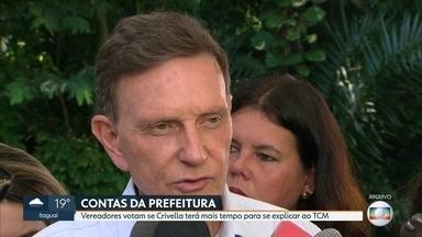 Câmara decide hoje se dá prazo para Crivella se explicar para TCM - Tribunal de Contas do Município apontou 15 irregularidades nas contas da Prefeitura do Rio do ano passado.