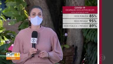 DF já registrou 960 mortes pela covid-19 - Já ultrapassamos os 73 mil casos confirmados de coronavírus. Nessa terça (14), o secretário de Saúde disse que não há como prever o dia de amanhã.