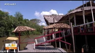 Operação fiscaliza restaurantes na ilha do Combu - Operação fiscaliza restaurantes na ilha do Combu