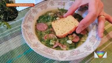 Aprenda a fazer um Caldinho Verde - Receita é da Chef Lilian, de São José dos Campos.