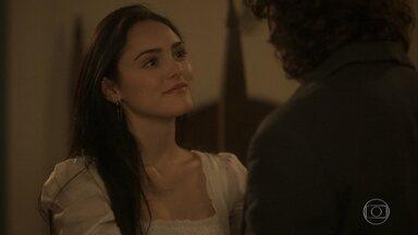 Anna diz a Joaquim que nunca o irá abandonar - Ele garante que não está surpreso com a decisão dela de ficar