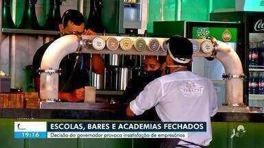 Aulas presenciais, bares e academias sem data para retomar as atividades - Saiba mais em g1.com.br/ce