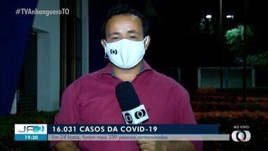 Tocantins tem 339 novos casos da Covid-19 em 24 horas - Tocantins tem 339 novos casos da Covid-19 em 24 horas