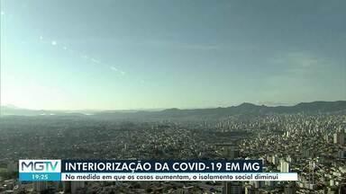Covid-19 já chegou a 90% dos municípios de MG, aponta pesquisa - Mais de 80 mil casos da doença foram confirmados no estado.