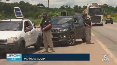 Número de acidentes envolvendo motos aumentou nas rodovias federais de RO - Levantamento foi feito pela PRF