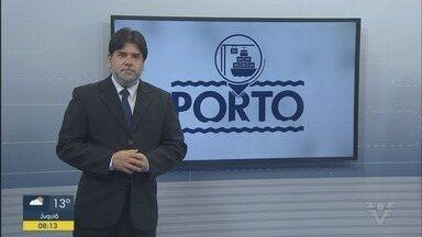 Porto de Santos bate recorde de movimentação de cargas - Jornalista Leopolodo Figueiredo trouxe essa e outras notícias sobre o setor.