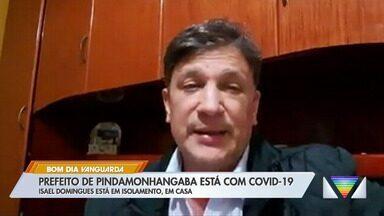 Prefeito de Pindamonhangaba, Isael Domingues, testa positivo para coronavírus - Informação foi confirmada pelo chefe do executivo de Pinda em transmissão pelas redes sociais.