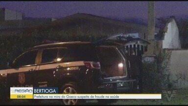 Operação recolhe documentos para analisar fraudes na área da saúde em Bertioga - Ação é conduzida pelo Gaeco em conjunto com a Polícia Civil.