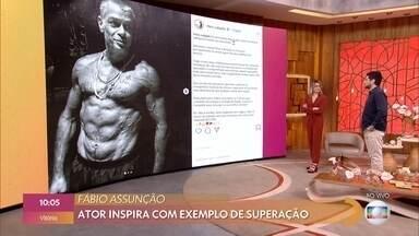 Fernanda Gentil comenta os assuntos que estão em alta nas redes sociais - Fábio Assunção inpsira com exemplo de superação