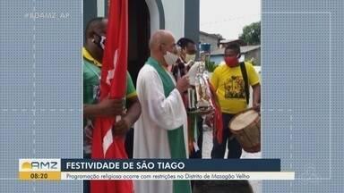Prefeitura de Mazagão decreta lockdown durante Festa de São Tiago, sendo restrita a cidade - Prefeitura de Mazagão decreta lockdown durante Festa de São Tiago que terá programação restrita para os moradores da cidade