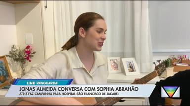 Atriz Sophia Abrahão faz campanha para arrecadar doações para hospital em Jacareí - Hospital São Francisco afirma que teve queda na receita e aumento nos gastos com a pandemia de coronavírus.