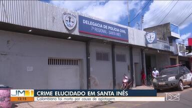 Presos homens suspeitos de assassinato de um colombiano em Santa Inês - O crime ocorreu há cerca de quatro meses no Centro da cidade.
