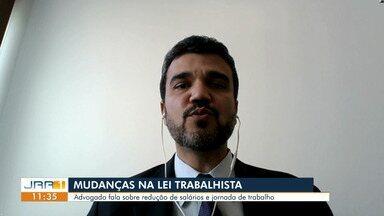 Medida provisória permite empregadores reduzirem a jornada e salário dos trabalhadores - O advogado Benjamin Oliveira orienta sobre redução de salários e jornada de trabalho.