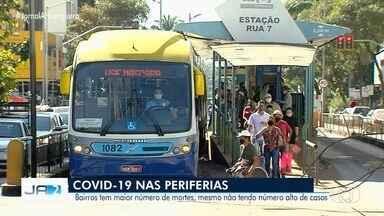 Coronavírus migra dos bairros ricos para os mais pobres em Goiânia - O vírus já aparece em mais de 500 bairros, nas regiões Norte e Leste.
