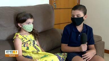 Crianças mandam bem no comando de um telejornal - Veja a reportagem!