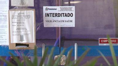 Agência do INSS é interditada em Paranavaí - Laudo da Prefeitura aponta que o prédio corre risco de desabamento.
